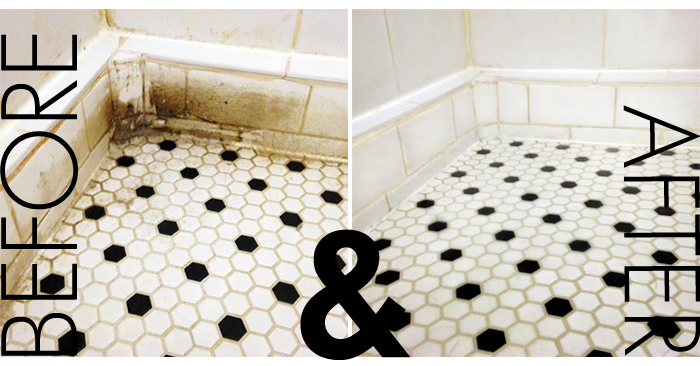 Consistency of grout for floor tiles