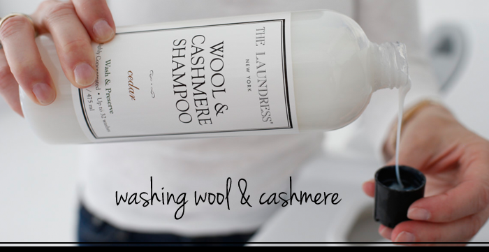 how-to | care for wool & cashmere at home