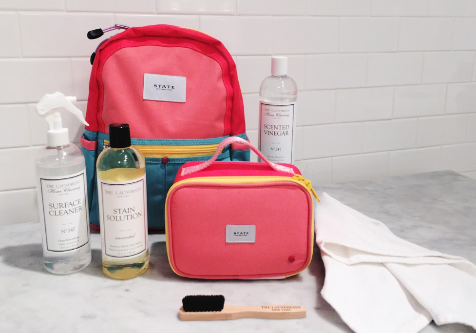 how-to | clean backpacks & lunchboxes
