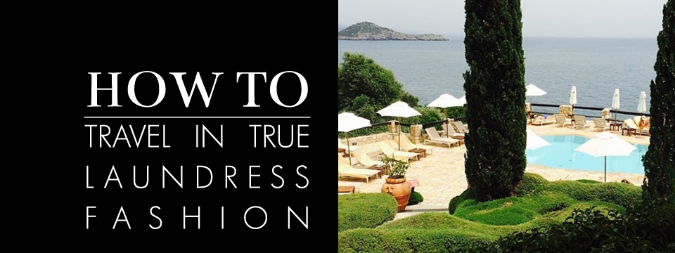 how to travel in true laundress fashion