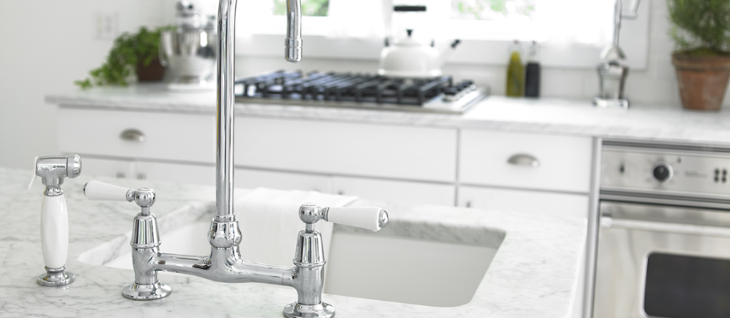 eco-friendly cleaning of faucets and fixtures