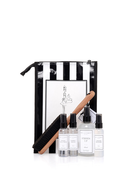 clothing and upholstery care gift bag