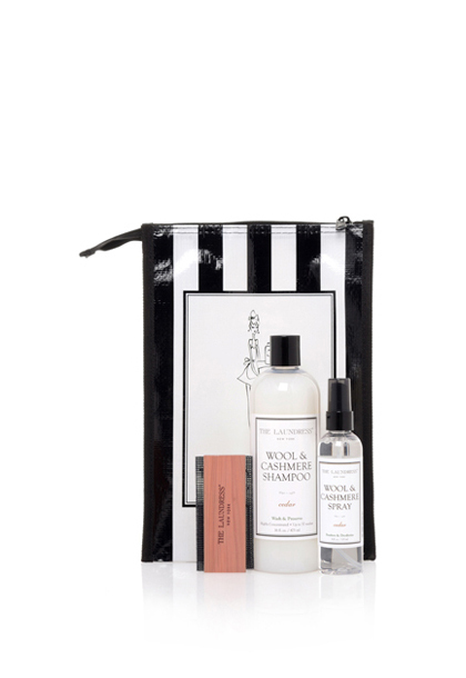 wool & cashmere gift bag